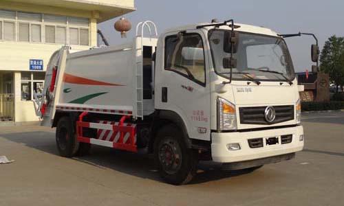 东风D912天燃气压缩式垃圾车图片