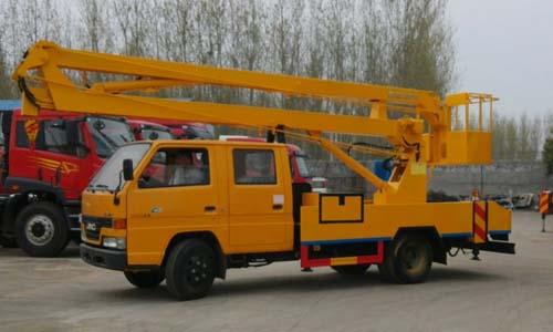 江铃顺达14米高空作业车