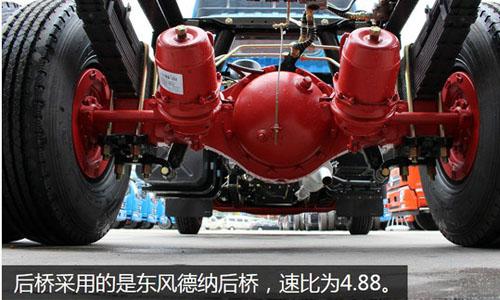 东风多利卡d6轻卡搭载115马力玉柴发动机特点图片