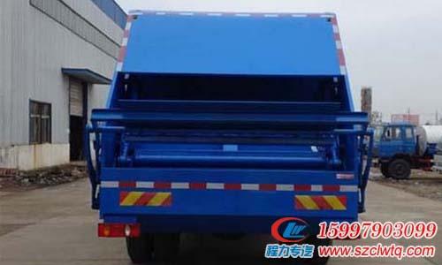 堪称经典东风天锦压缩式垃圾车技术性能优越