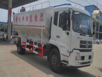 国五东风天锦10吨散装饲料运输车