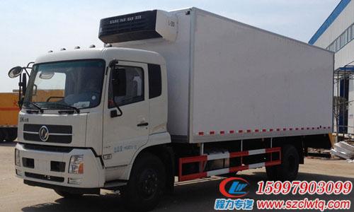国五东风天锦厢长7.4米冷藏车