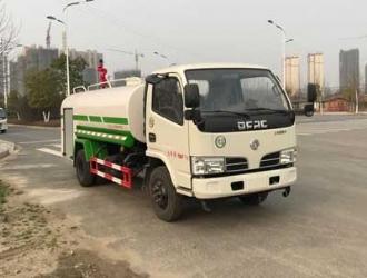 国五东风福瑞卡4.7吨洒水车