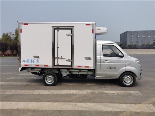 国六金杯T30汽油蓝牌冷藏车